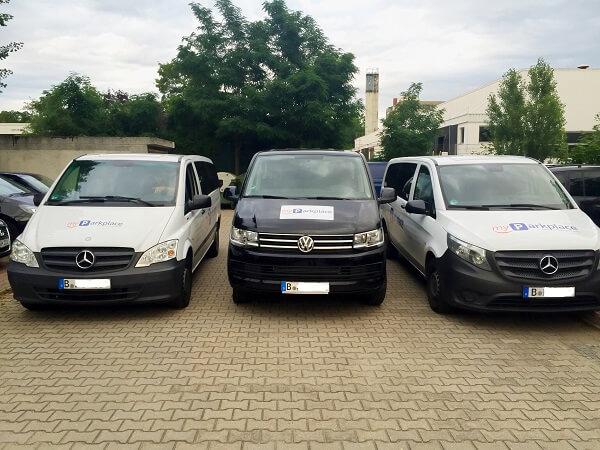 myParkplace Fahrzeuge